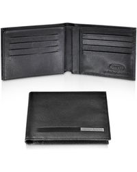 Bric's - Pininfarina - Leather Card Holder Billfold Id Wallet - Lyst