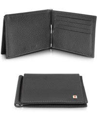 Giorgio Fedon - Wall Street - Mens Leather Card Holder W/money Clip - Lyst