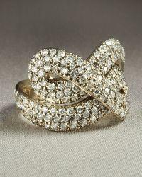 H Stern - Celtic Dunes Diamond Ring - Lyst