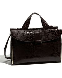 Ivanka Trump Sophie Faux Leather Briefcase - Lyst