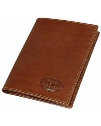 Robe Di Firenze - Brown Breast Coat Leather Wallet - Lyst