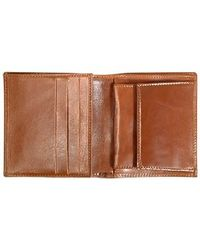 Robe Di Firenze - Brown Leather Mens Breast Coat Id Wallet - Lyst