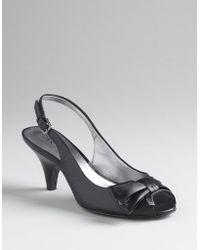 Ak Anne Klein Rosalba Slingback Sandals - Lyst