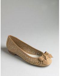 Ak Anne Klein Baby Ballet Flats - Lyst