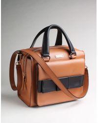 Kate Spade Bow Bridge Little Kennedy Handbag brown - Lyst