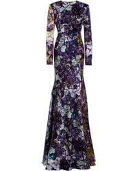 Mary Katrantzou Wild Rose Gown - Lyst