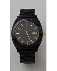 Nixon Time Teller Acetate Watch - Lyst