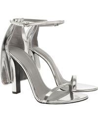 Alexander Wang Fabiana High Heel Sandals - Silver - Lyst