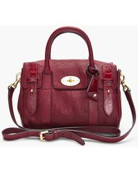 Mulberry Bayswater Satchel - Lyst