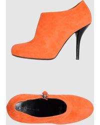 Balenciaga Shoe Boots orange - Lyst
