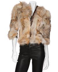 Matthew Williamson - Coyote Fur Jacket - Lyst