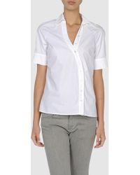 Gianfranco Ferré Gf Ferre - Short Sleeve Shirts - Lyst