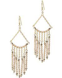 Lee Angel - Swarovski Fringe Earrings - Lyst