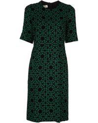 Marni Mint Print Dress - Lyst