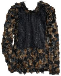 Marni Sequined Silk-blend Top - Lyst