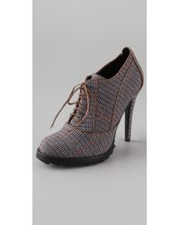 Plomo - Joanna Lace Up Booties - Lyst