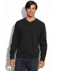 Tommy Bahama Palisuede V-neck Sweater - Lyst