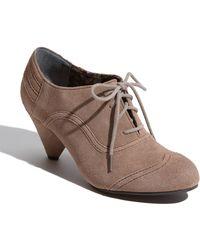 BC Footwear Foil Oxford Pump - Lyst