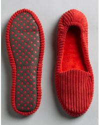 Hue - Corduroy Loafer Shue Slippers - Lyst