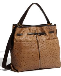 Furla Gaucho Belted Leather Hobo - Lyst
