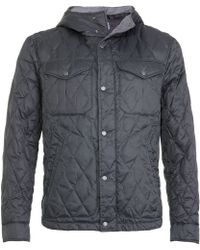 C P Company Quilted Shirt Jacket - Lyst