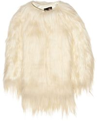 Isabel Marant Mamum Goat Hair Coat - Lyst