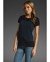 Marc By Marc Jacobs Fosse Colorblock Tee - Lyst
