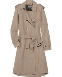 Antipodium - Parklife Cotton-blend Trench Coat - Lyst