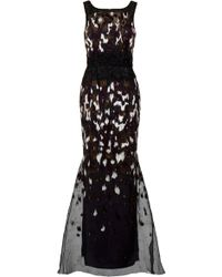 Carolina Herrera Ikat Sequin Gown - Lyst