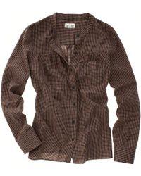 Madewell Plaid Boiler Shirt - Lyst