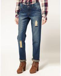 ASOS - Asos Rich Vintage Boyfriend Jeans - Lyst