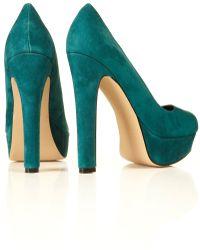 TOPSHOP - Platform Court Shoes - Lyst
