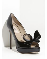 Valentino Couture Bow Platform Pump - Lyst