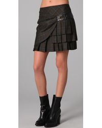 L.A.M.B. - Short Plaid Kilt Skirt - Lyst