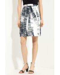 Lida Baday | Printed Cotton & Silk Skirt | Lyst
