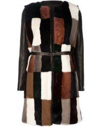 MSP Mink Fur Coat - Lyst