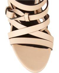 CALVIN KLEIN 205W39NYC - Kayla Strappy Leather Sandals - Lyst