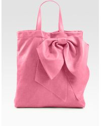RED Valentino Bow Tote Bag - Lyst