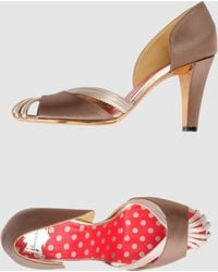 Christian Lacroix High Heeled Sandals - Lyst