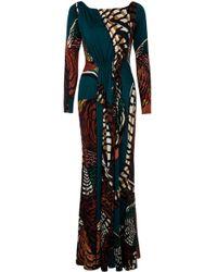 Issa Long Dress Jersey L/s - Lyst