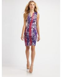 Piazza Sempione Printed Dress - Lyst