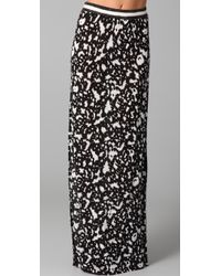 Cut25 by Yigal Azrouël - Long Skirt with Slit - Lyst