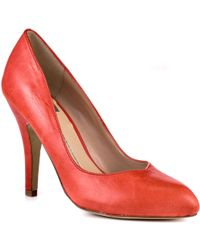 DV by Dolce Vita Notty - Red Leather - Lyst