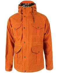 Filson - Orange Fisherman Parka Jacket - Lyst