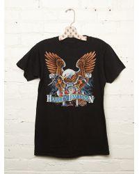 Free People Vintage Harley Davidson Tee - Lyst