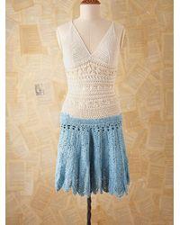 Free People Vintage Crochet Dress - Lyst