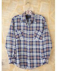 Free People Vintage Plaid Flannel - Lyst