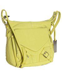 Botkier Key Lime Leather Helena Crossbody Bag - Lyst