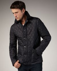 Burberry Brit - Classic Quilted Jacket - Lyst