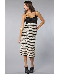 Free People The Crochet and Lace Dress - Lyst